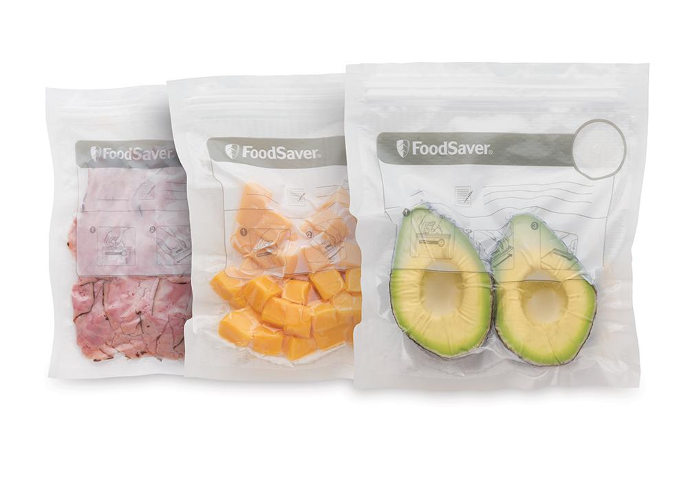 Prima Vakuumpåsar Ziplock 950 ml - Foodsavers vakuumförpackare UC-86